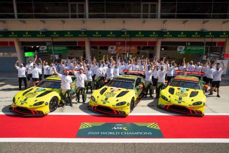 Aston Martin racing team