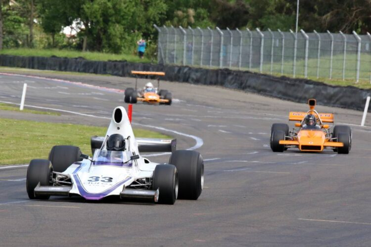 Shayne Windelburn Round One Tasman Revival F5000 series