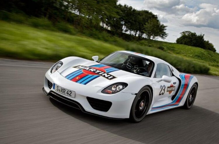 Martini Racing Porsche 918 Spyder