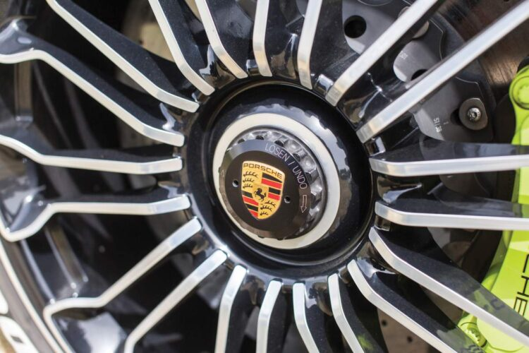 Wheels of Porsche 918 Spyder