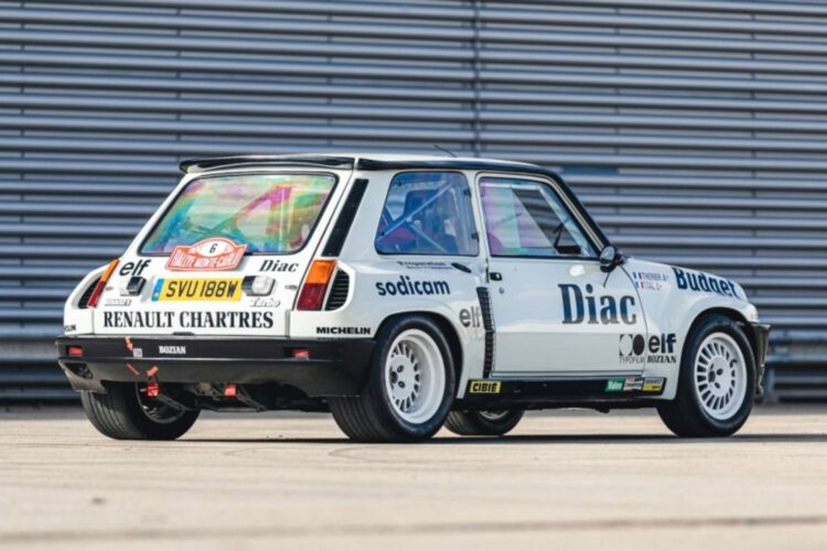 rear of 1982 Renault 5 Turbo Group 4