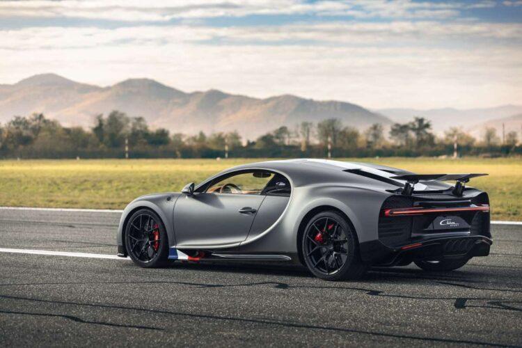 """rear of Bugatti Chiron Sport """"Les Légendes du Ciel"""""""
