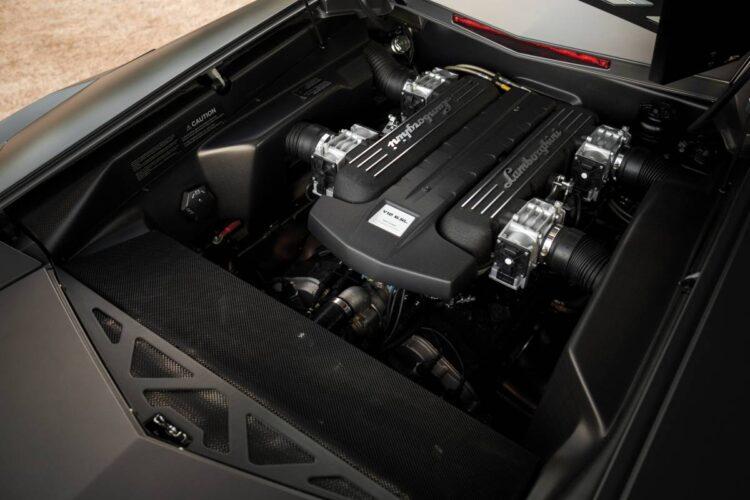 Engine of Lamborghini