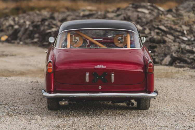 rear of 1956 Ferrari 250 GT Alloy Coupe by Boano