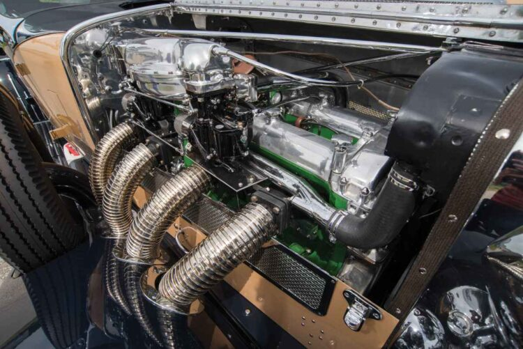 Engine of SJ Duesenberg