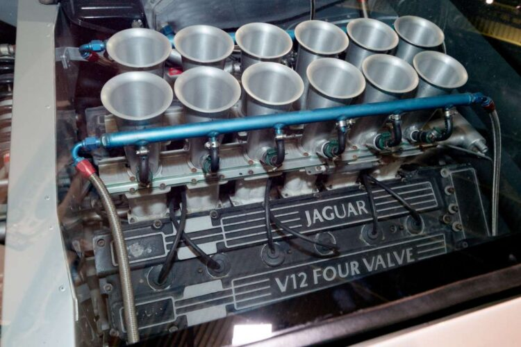 V12 Engine of XJ220 Concept Car