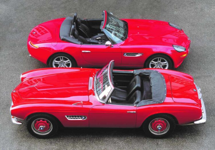 BMW Z8 and 507