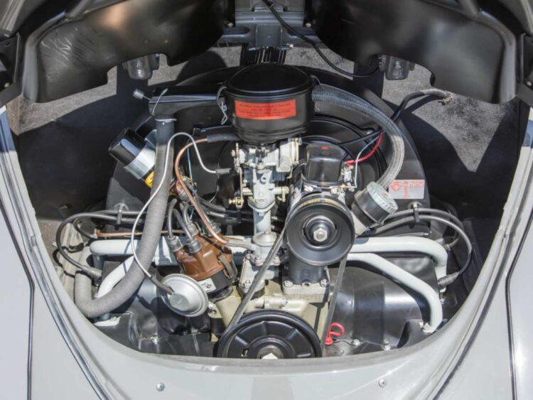 Engine of Volkswagen Karmann Beetle