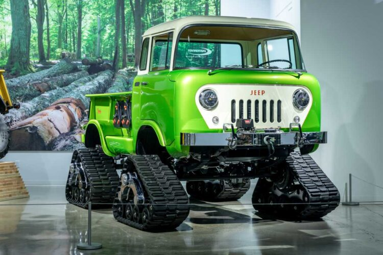 Jeep FC170 with Mattracks