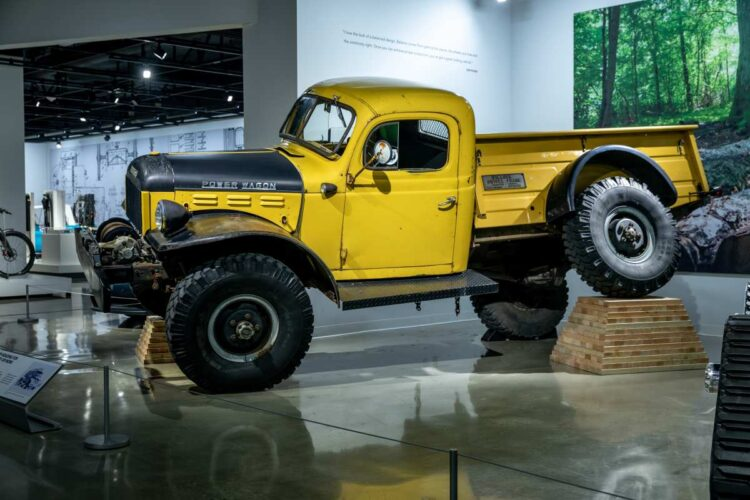 Dodge Power Wagon with Willock Swivel Conversion
