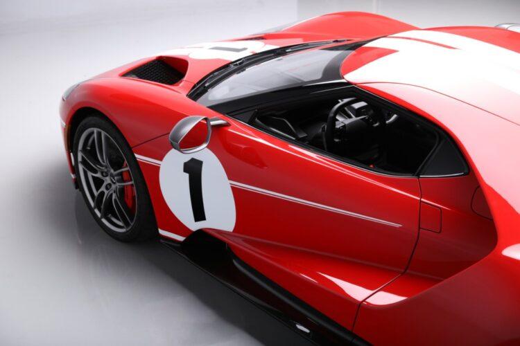 2018 Ford GT at the 2021 Scottsdale Barett-Jackson Auction