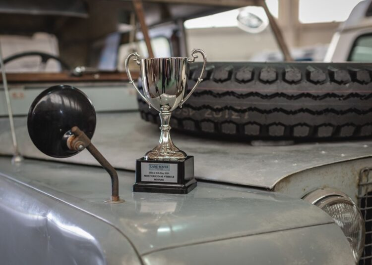 Awards for Land Rover Legends