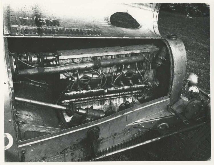 Engine of the Bugatti Type 35