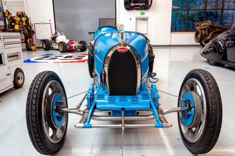 Restored Bugatti