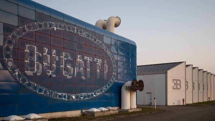 Bugatti Factory