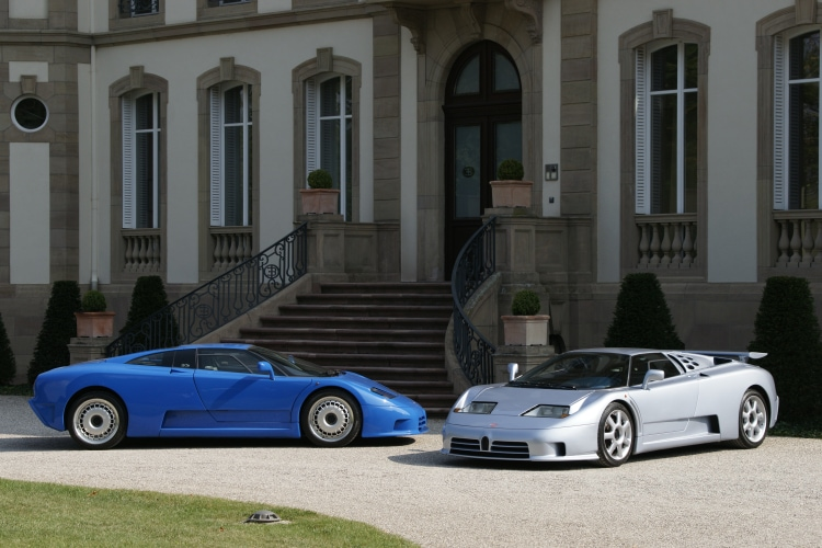 Bugatti EB 110 Sport Stradale Prospekt