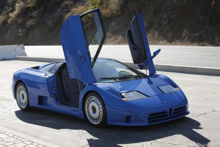 Bugatti EB110 Doors