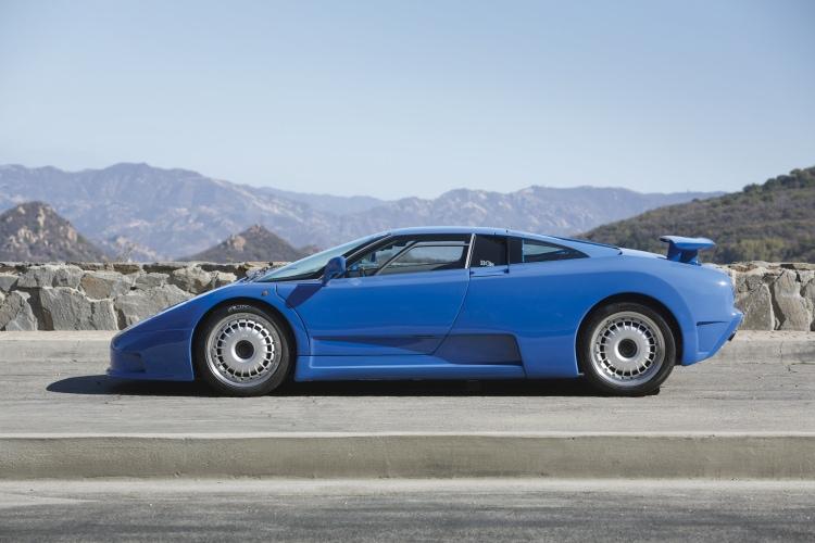 side profile of Bugatti
