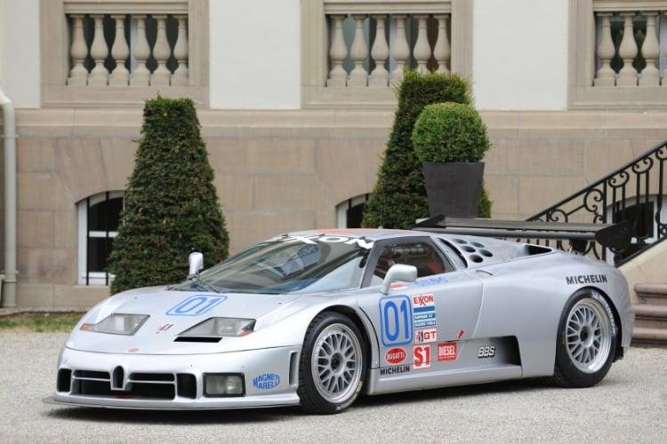 1995 Bugatti EB110 SS Racing car