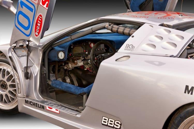 interior of racing car