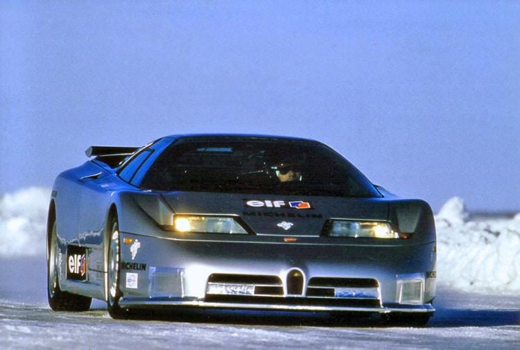 Racing on ice