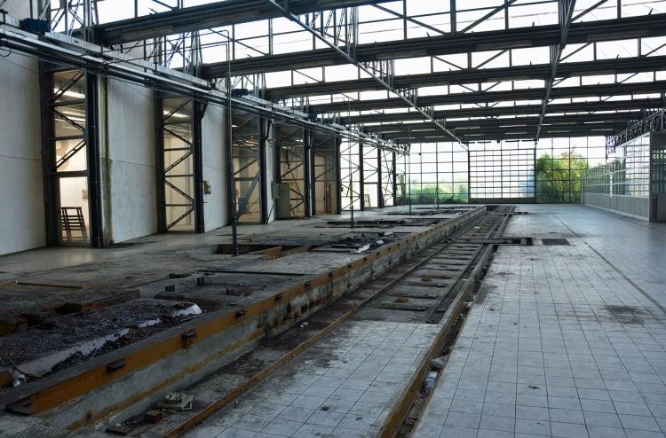 Deteriorating Bugatti Compogalliano Factory