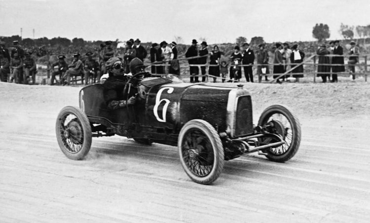 Chassis TT2 at Spanish GP