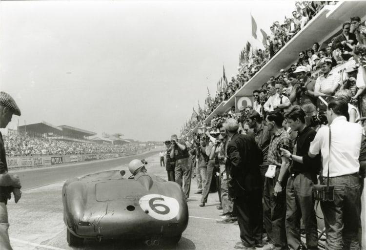 DBR1 at 1959 Le Mans