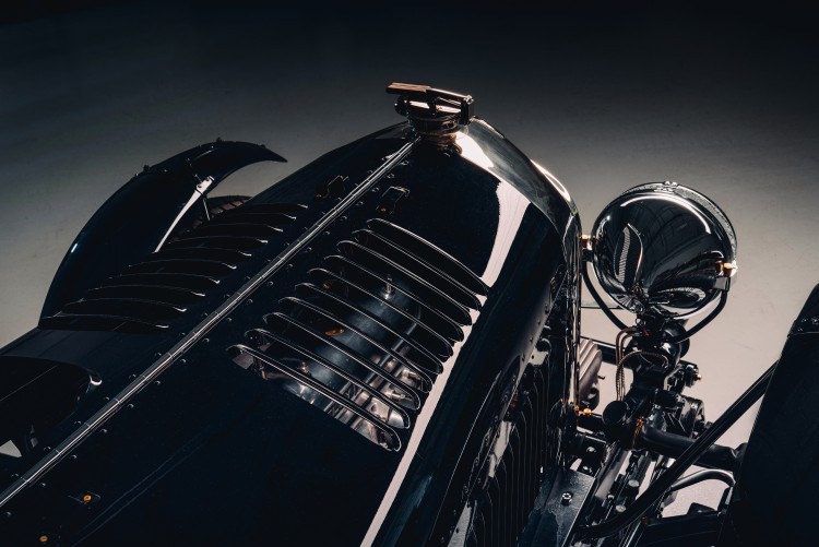 Hood of Bentley Blower