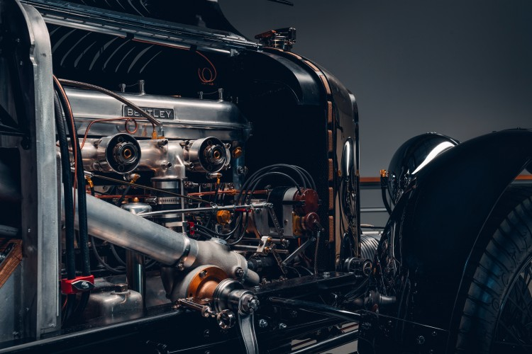 Engine of Bentley Blower