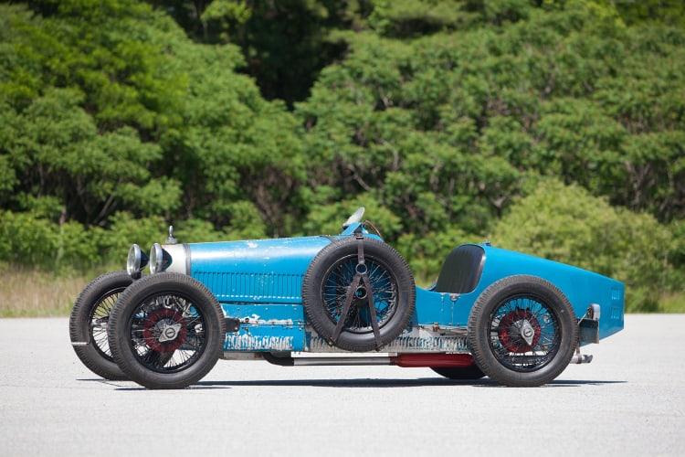 Gooding and Company 2021 Scottsdale Auction Bugatti