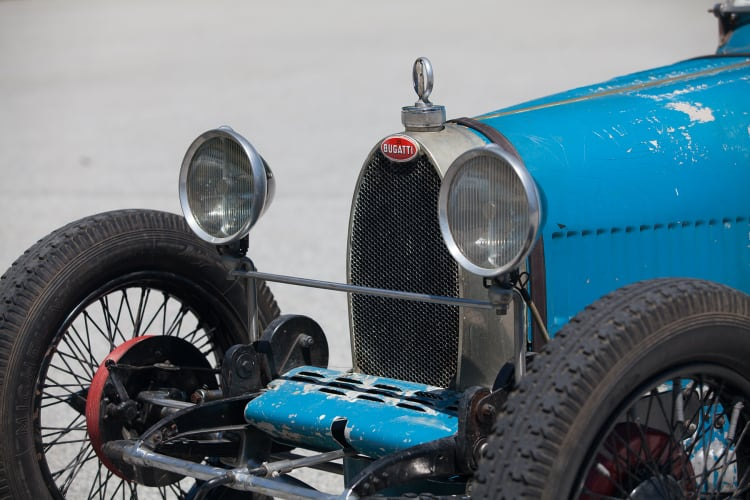 1926 Bugatti Type 37 Grand Prix wheels