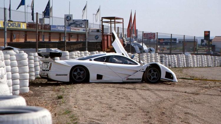 Mercedes-Benz CLK GTR/McLaren F1 GTR prototype at Jarma
