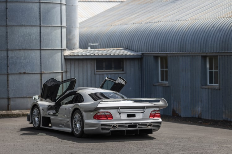 Rear of Mercedes-Benz CLK GTR