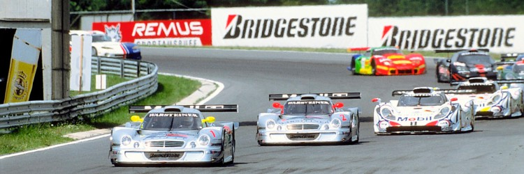 Racing mercedes