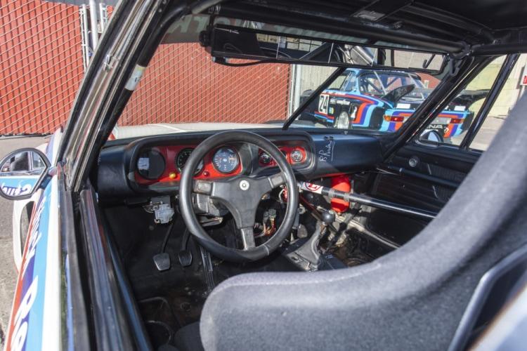 interior of BMW 3.5 CSL IMSA