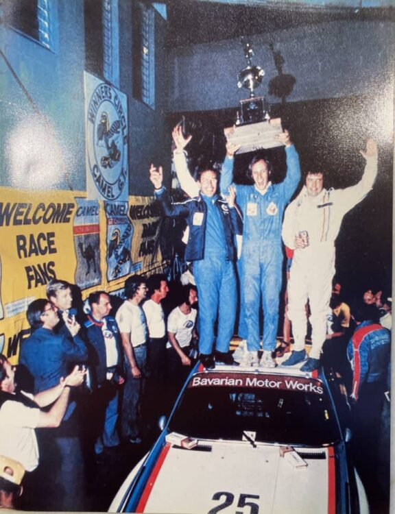 Winning the 1975 12 hours Sebring