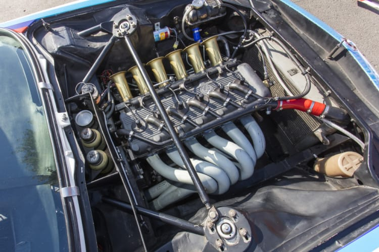 Engine of BMW 3.5 CSL IMSA