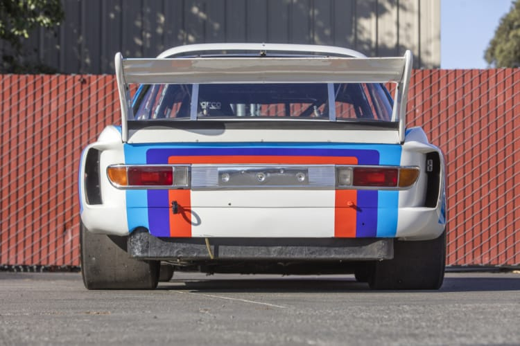 rear of 1974 BMW 3.5 CSL IMSA