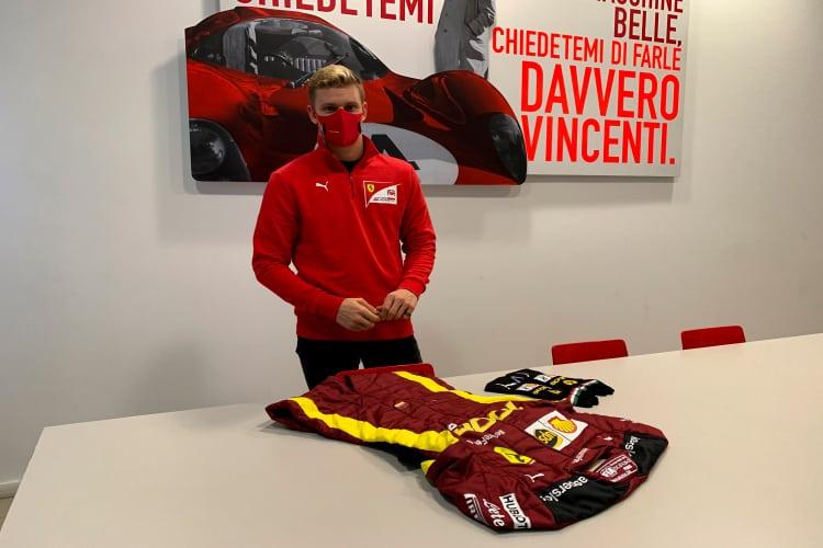 Mick Schumacher Signed Racing Suit