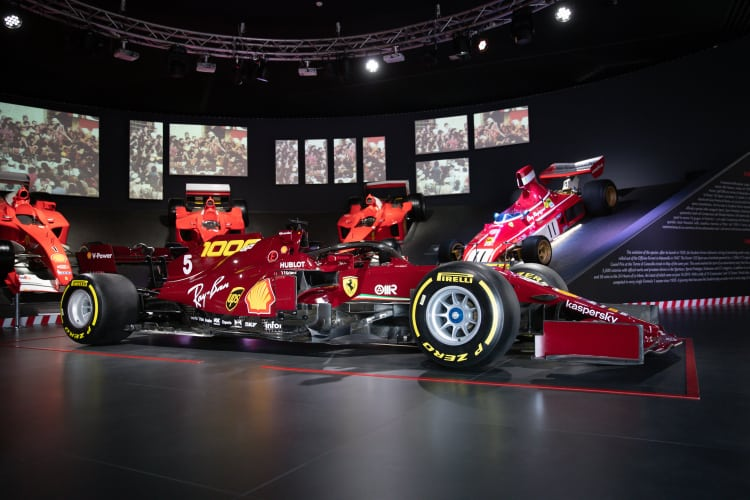 Ferrari SF1000 Show Car side profile