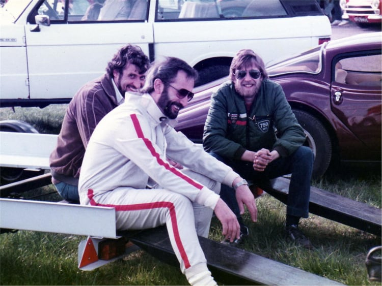 Ted Marlow (front) and Lee Noble (rear)