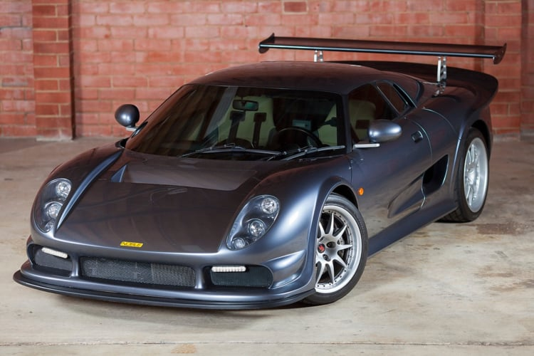 front of the Noble M12