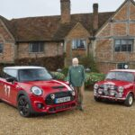 1964 Monte Carlo Rally Tribute Mini Delivered to Paddy Hopkirk