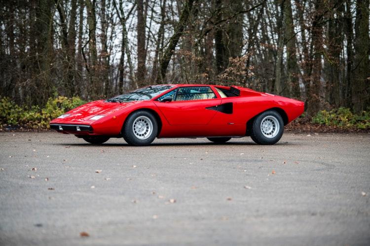 1977 Lamborghini Countach LP400 'Periscopio' by Bertone