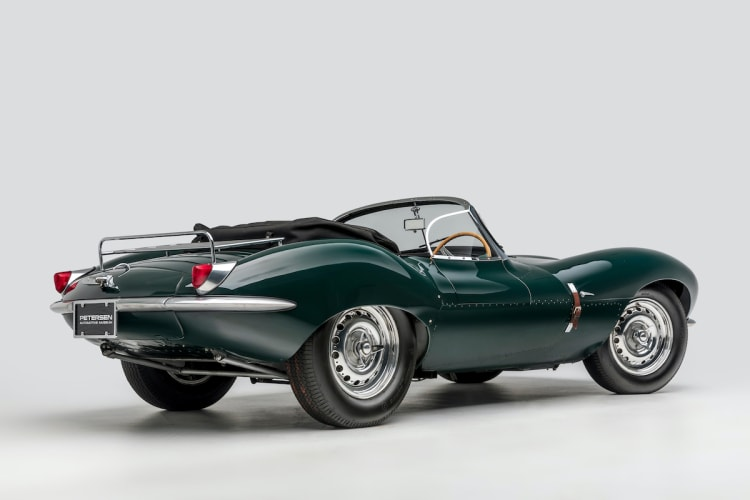 Rear of Jaguar XKSS