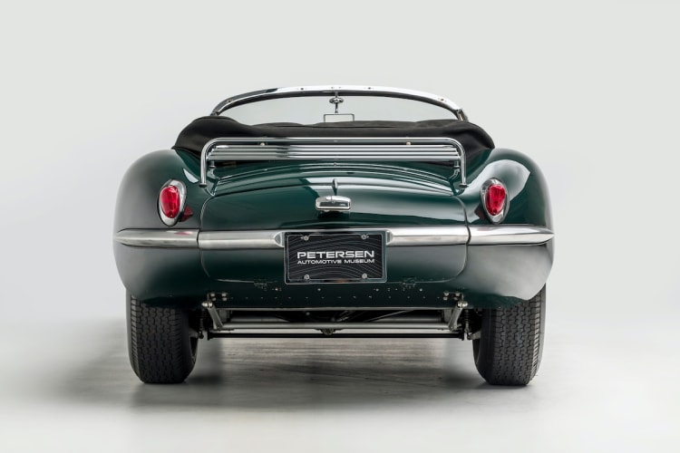 back of 1956 Jaguar XKSS