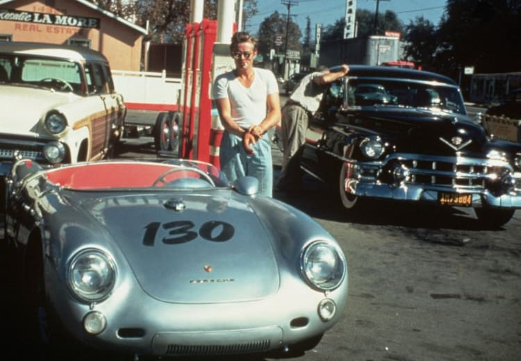 James Dean Porsche 550 Spyder