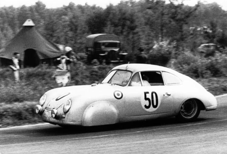 1952 Le Mans Class winner – Porsche 356 SL