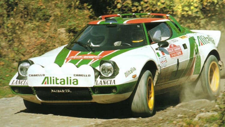 Rally driving